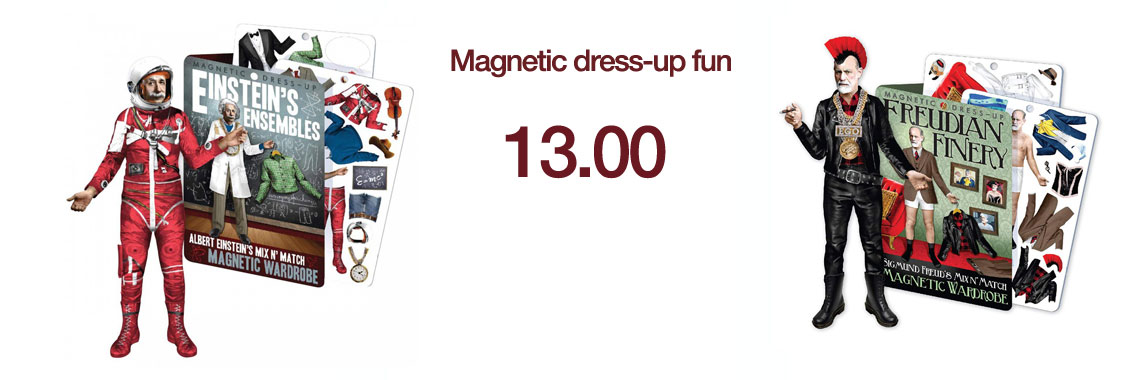 Magnetic dress-up