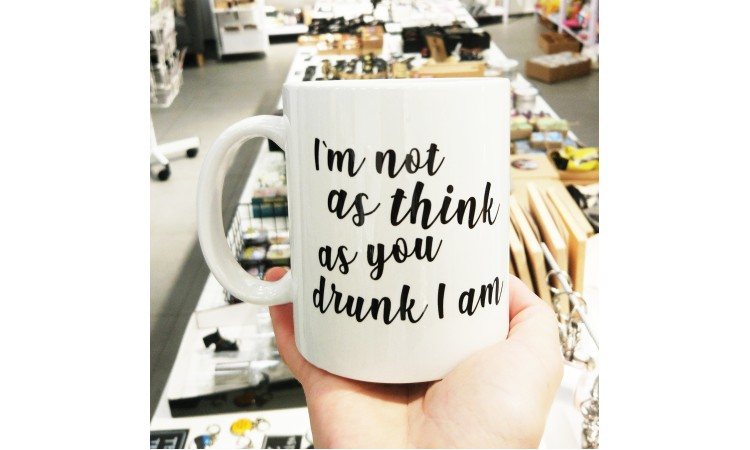"""Kruus """"I`m not as think as you drunk I am"""""""