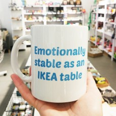 "Kruus ""Emotionally stable as an IKEA table"""