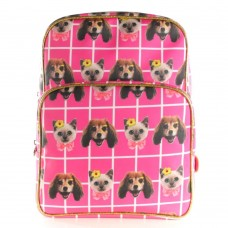 """Seljakott """"Pink cats and dogs"""""""