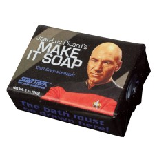 "Miniseep ""Jean-Luc Picard's Make it Soap"""