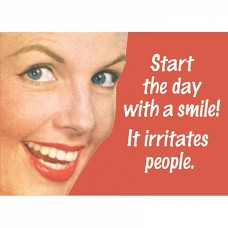 "Magnet ""START THE DAY WITH A SMILE!"""