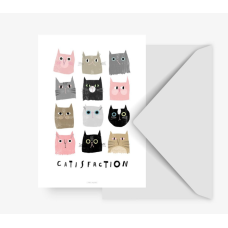 "Postkaart ""Catisfaction No. 1"""
